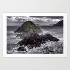 Dingle Peninsula Art Print