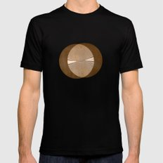 IT'S IN THE WILLOWS Mens Fitted Tee Black MEDIUM