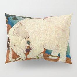 """The Elephant Pearl"" Fairy Tale Art by Edmund Dulac Pillow Sham"