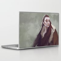 watch Laptop & iPad Skins featuring Watch by Kelly Perry