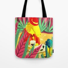 an encounter Tote Bag