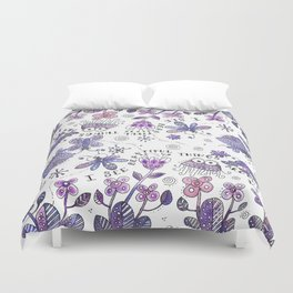 I See Beautiful Things Around Me Duvet Cover