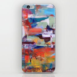 Floating thoughts iPhone Skin