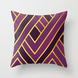 Art Deco Graphic No. 156 Throw Pillow