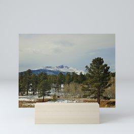 In the Rocky Mountains VII Mini Art Print
