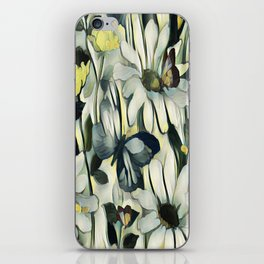 Spring Delight - Flowers And Butterflies iPhone Skin