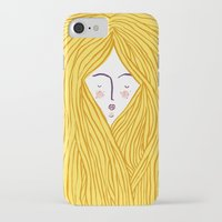 blondie iPhone & iPod Cases featuring Blondie by Katie L Allen