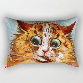 """Louis Wain's Cats """"Tom Smith's Crackers"""" Rectangular Pillow"""