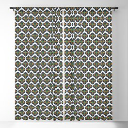 Bees Small Print Blackout Curtain