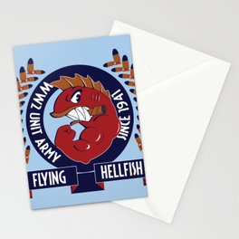 Flying Hellfish ARMY Stationery Cards
