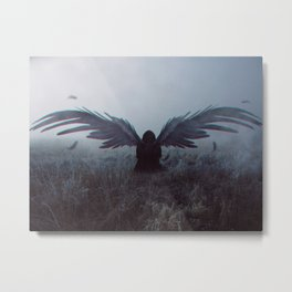 Angel of Death Metal Print