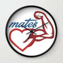 - Mates Wall Clock