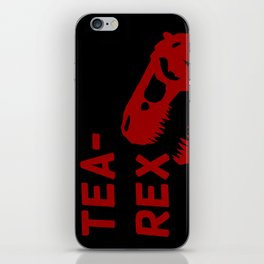Tea-Rex iPhone Skin