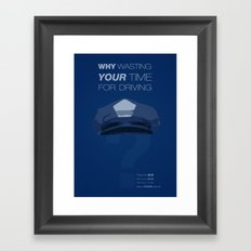 Driver Framed Art Print