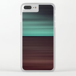 Heaven and Earth Clear iPhone Case