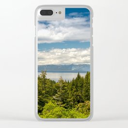 South Lake Tahoe, California Clear iPhone Case