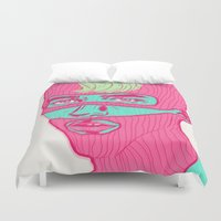freedom Duvet Covers featuring Freedom by Vanessa Neves