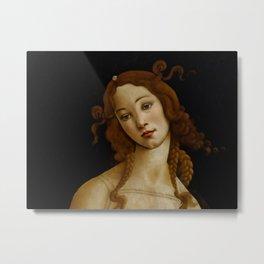 "Sandro Botticelli ""Venus"" (Sabauda Gallery, Turin) Metal Print"