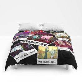 Invader Zim Photo Collage Comforters