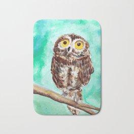 Baby owl Bath Mat
