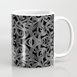 Floral Wrought Iron G19 Coffee Mug