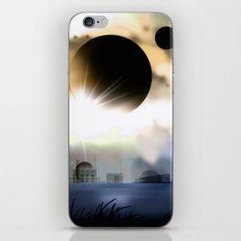 On a exosolar world. iPhone Skin