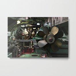 Torpedo Bay Metal Print