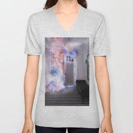 Door of the Galaxy Unisex V-Neck