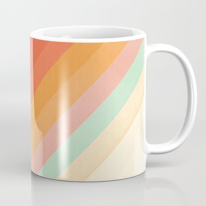 Rainbow Chevrons Kaffeebecher