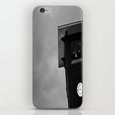 B&W Clock Tower iPhone & iPod Skin