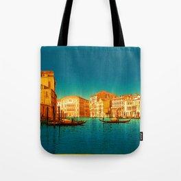 Venice Italy Vintage Original Painting Tote Bag