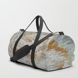 Abstract gold roses Duffle Bag