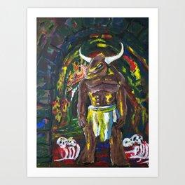 Minotaur 2 Art Print