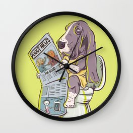 Benumbed Wall Clock