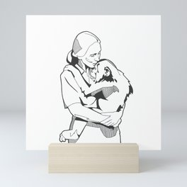 Jane Goodall Mini Art Print
