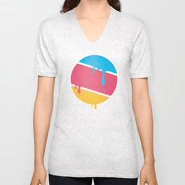 PLANET DROOLE#BYP Unisex V-Neck