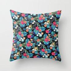 Tropical Mandalorian Throw Pillow