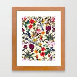 Magical Garden V Framed Art Print