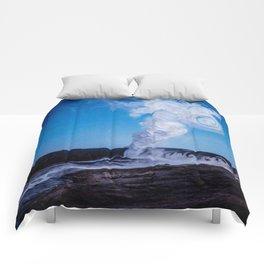 Old Faithful & Full Moon Comforters