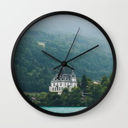 Iseltwald Switzerland Wall Clock
