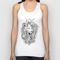 into the wild Tank Tops featuring Wild by AnggaAgustiya