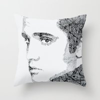 elvis Throw Pillows featuring Elvis by urbanexpressionist