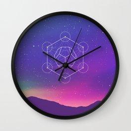 Dodecahedron  Wall Clock