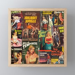 Pulp Fiction 3 Framed Mini Art Print