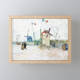 Vincent van Gogh - Stalemate of the Two Brothers - Digital Remastered Edition Framed Mini Art Print