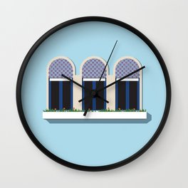 Porto Window_02 Wall Clock