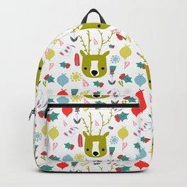 cute Christmas deer Backpack