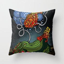 HMECHA_006_THE FLOOR IS YOURS Throw Pillow