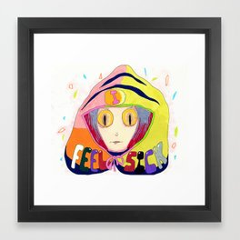 Sick Framed Art Print