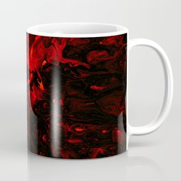 Red Blood Splatter Coffee Mug